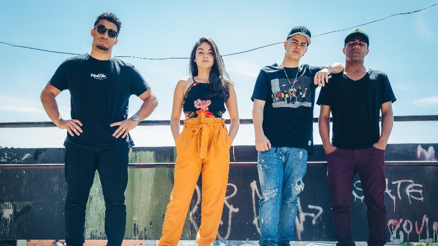 "O elenco principal de ""Sitonia"", nova série brasileira da Netflix - Rafael Morse/Netflix"