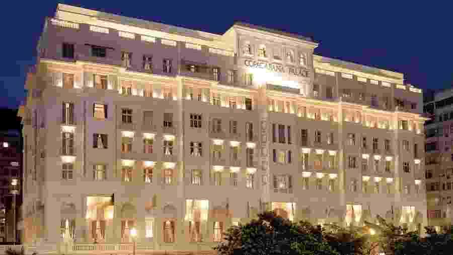 O Copacabana Palace, no Rio de Janeiro, está fechado desde o dia 10 de abril em virtude da pandemia da covid-19 - Divulgação/Belmond Copacabana Palace