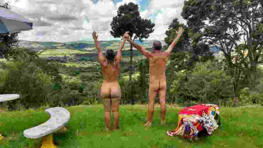 Gislaine e Douglas vão se casar nus no interior de São Paulo: