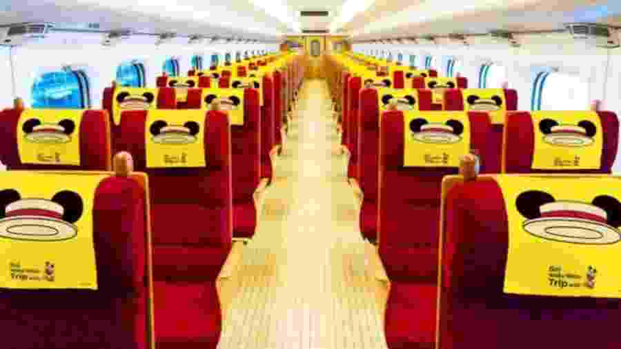 Reprodução/Japan Railways