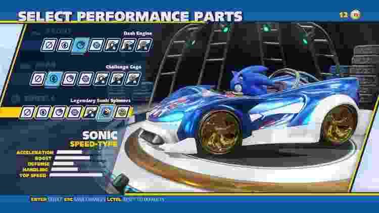 Team Sonic Racing - Melhorias - Reprodução - Reprodução