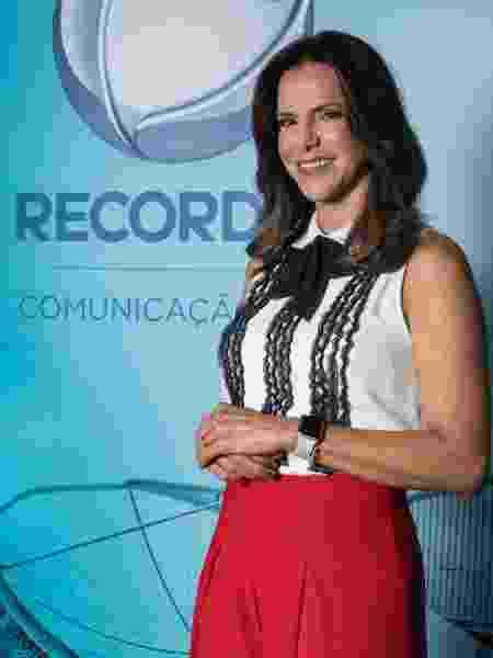 Virna estará ao lado de Lucas Pereira e Luísa Parente na abertura do Pan na Record - Antonio Chahestian/RecordTV
