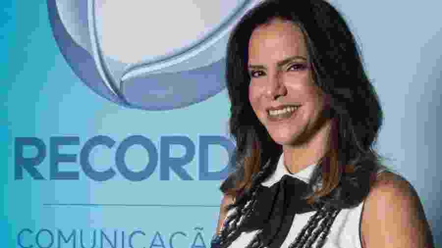 Virna, ex-jogadora de vôlei, contou que testou positivo, mas está sem sintomas - Antonio Chahestian/RecordTV