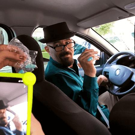 Marlon Casagrande, o Walter White do Uber de Curitiba - Reproduão