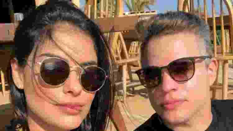 Munik Nunes anunciou está separada do marido, Anderson Felício - Reprodução/instagram - Reprodução/instagram
