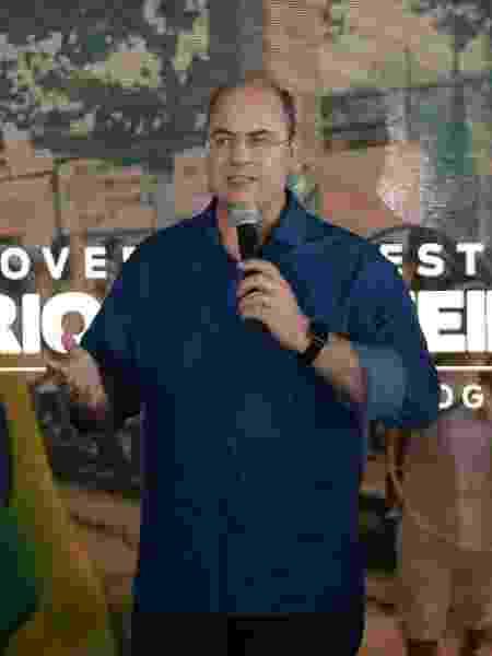 Governador do Rio de Janeiro Wilson Witzel em coletiva de imprensa - JORGE HELY/FRAMEPHOTO/ESTADÃO CONTEÚDO