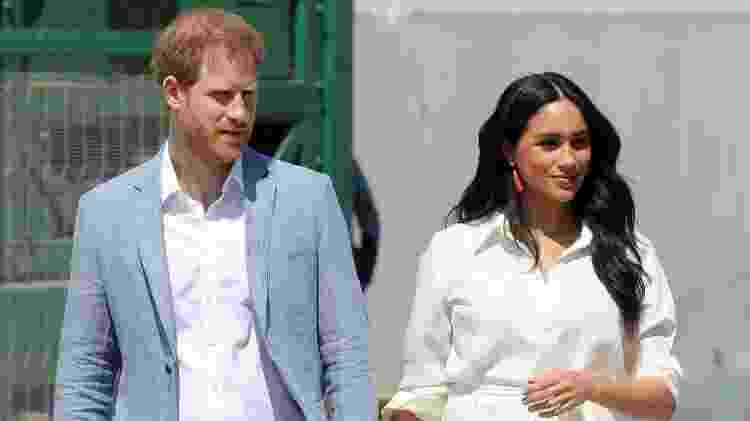 Meghan e Harry de mãos dadas - Getty Images - Getty Images