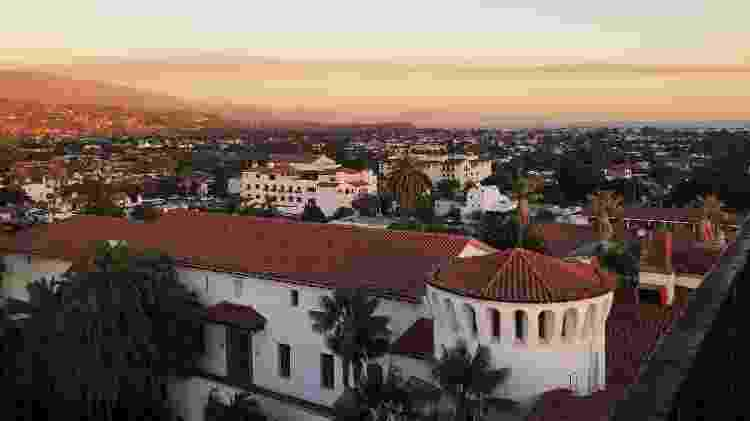 Vista das casas coloniais de Santa Bárbara - Unsplash