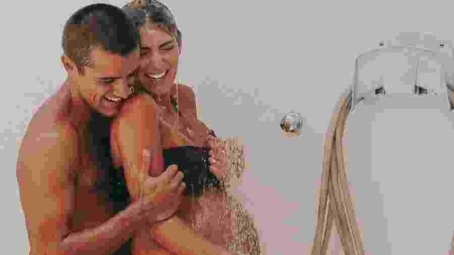 Mariana Uhlmann e o marido, Felipe Simas - Reprodução/Instagram