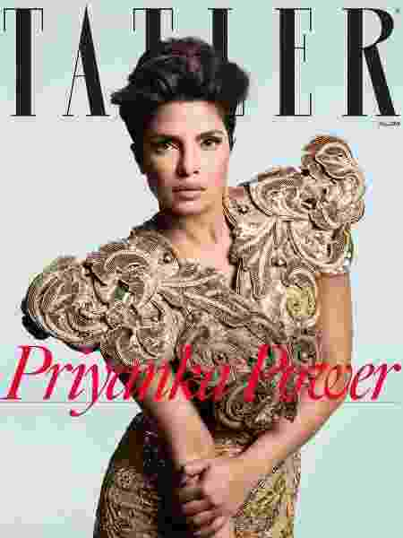 Priyanka Chopra na capa da Tatler - Divulgação
