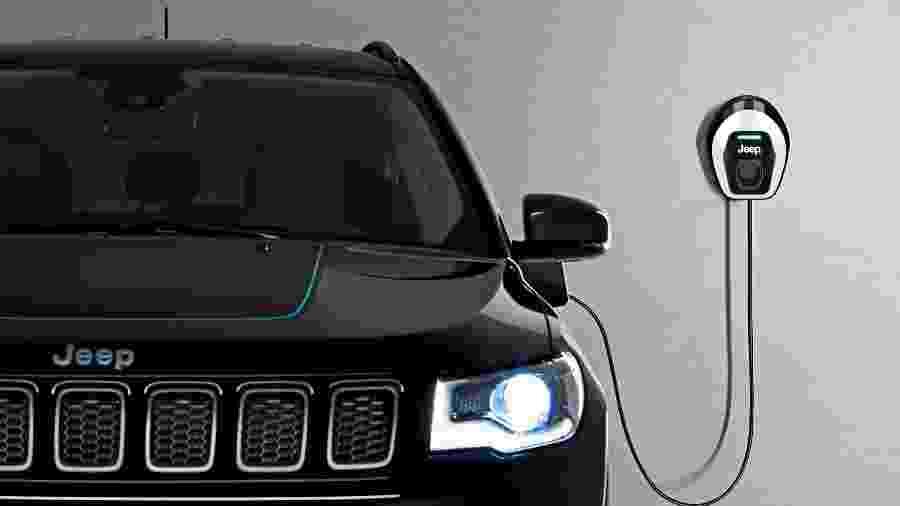 Jeep Compass híbrido - Divulgação