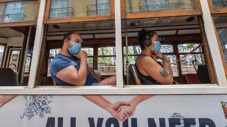 Reflexos da ação: a boa conduta de Portugal durante o pico da pandemia pode inspirar maior segurança aos visitantes na volta do turismo - Corbis/Getty Images