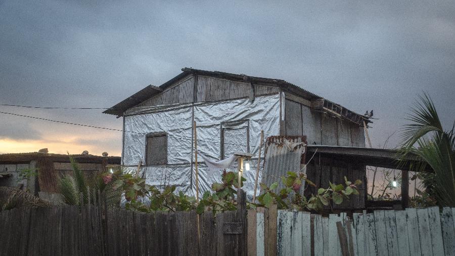 Bairro de Monte Sinai, em Guayaquil, no Equador, enfrenta pandemia de Covid-19 com ações comunitárias como monitoramento de casos e doações; lá vivem quase 130 mil pessoas - Vicente Gaibor del Pino