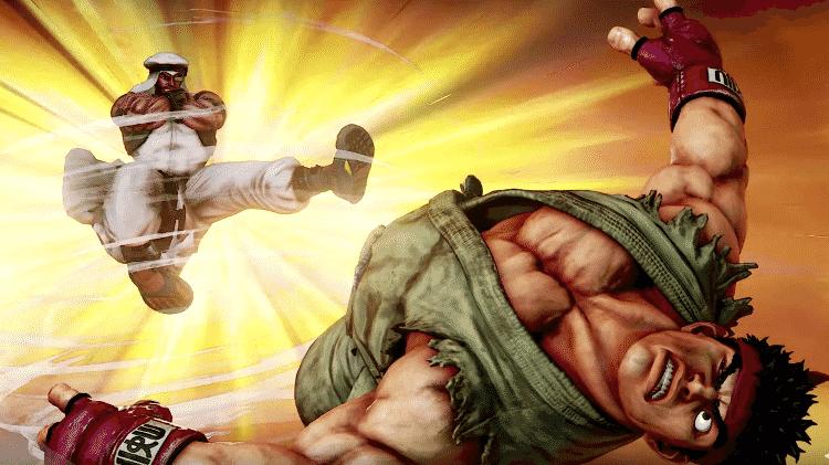Rashid Street Fighter V - Divulgação/Sony - Divulgação/Sony