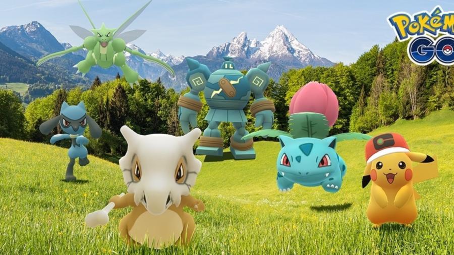 Pokémon GO foi o segundo jogo mobile mais baixado no Brasil em 2020 - Divulção/Niantic