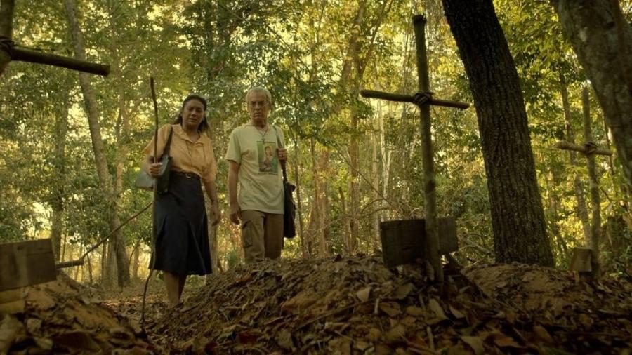 Pureza é interpretada por Dira Paes no cinema - BRENO POMPEU/DIVULGAÇÃO via BBC