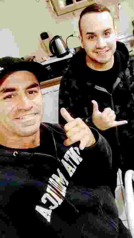 Renan e seu irmão, Fabrício - Arquivo pessoal - Arquivo pessoal