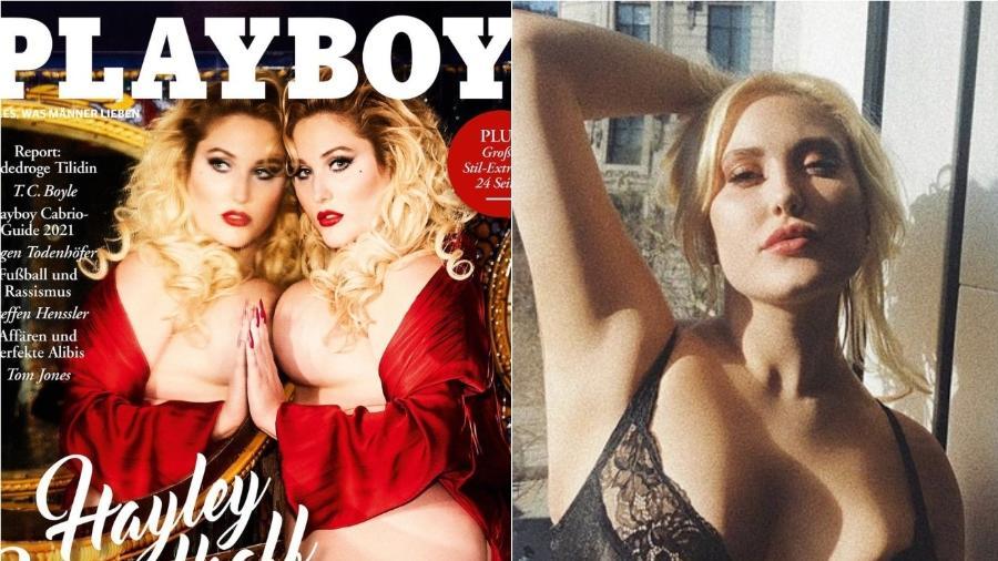 Hayley Hasselhoff posou para a capa da Playboy - Reprodução/Instagram/Playboy
