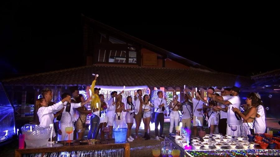 """Festa de encerramento no """"De Férias com o Ex"""" - Reprodução/MTV"""