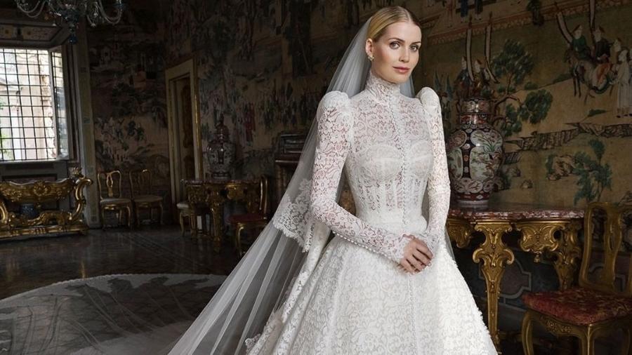 Como é o palácio onde a sobrinha de Diana se casou com um milionário  - Reprodução/Instagram @dolcegabanna