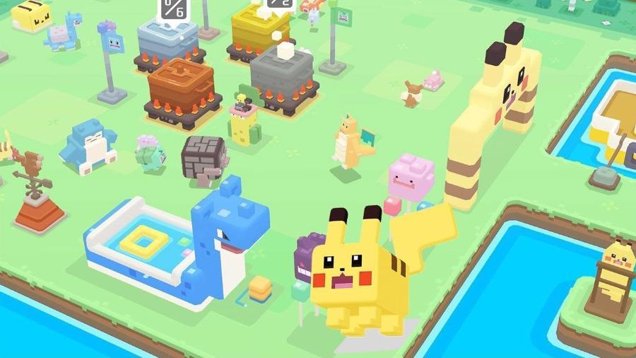 Pokémon Quest - Divulgação/The Pokémon Company