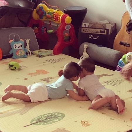 Andreia Sadi posta momento intimista dos filhos  - Reprodução / Instagram
