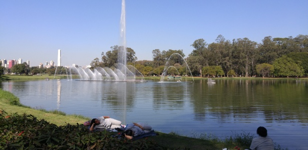Durante a semana, o parque fica aberto das 5 horas à meia-noite