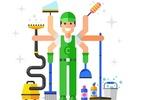 Faça limpeza durante a obra para preservar acabamentos e facilitar mudança - Getty Images