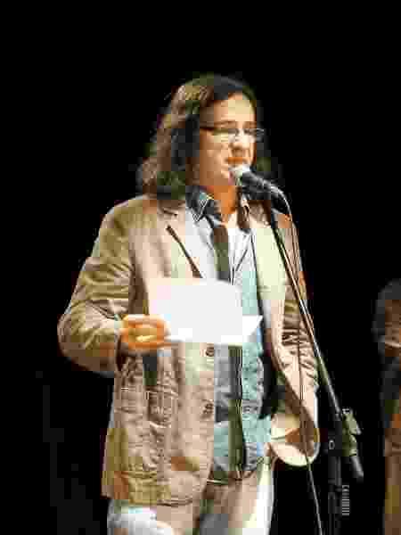 Geraldo Carneiro foi diagnosticado com a covid-19 no ínicio de março e vem se recuperando bem - Marcos Ramos/Ag. O Globo