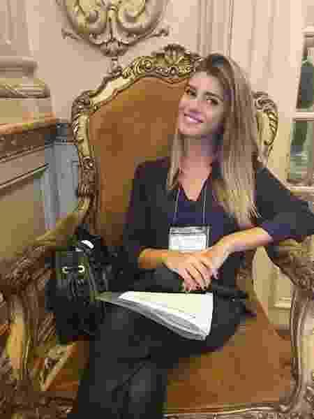 Joana Treptow é repórter da TV Bandeirantes - Reprodução/Instagram/@joanatreptow - Reprodução/Instagram/@joanatreptow