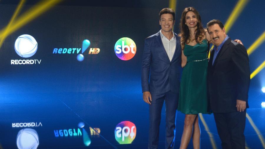 Record, RedeTV! e SBT ainda não chegaram a um acordo com operadoras - Antonio Chaestian/Divulgação/Record
