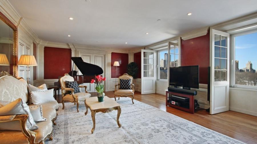 Apartamento que foi de David Bowie em Nova York, próximo ao Central Park - Corcoran Group