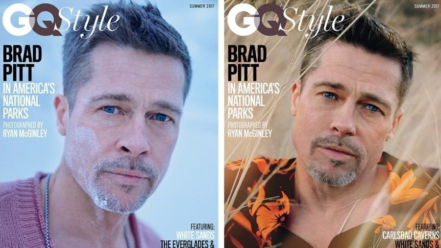 """Brad Pitt é capa da revista """"GQ"""" - Reprodução/GQ"""