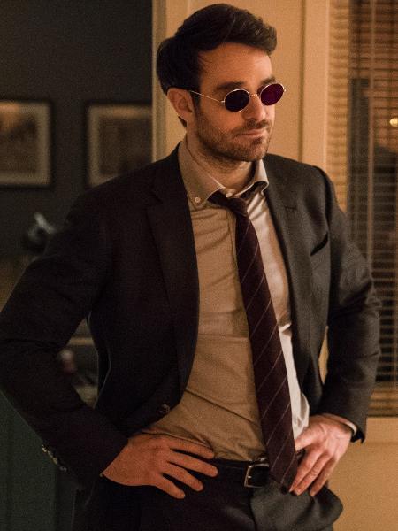 """Charlie Cox é Matt Murdock / Demolidor em """"Os Defensores"""" - Divulgação/Netflix"""