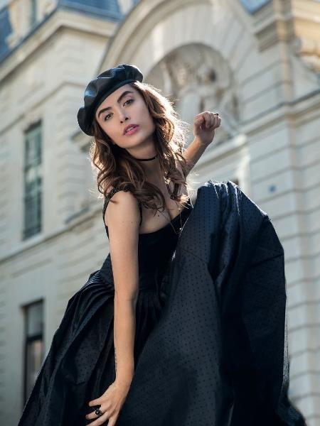 Maria Casadevall posa em Paris para revista - Gleeson Paulino/Divulgação Glamour Brasil