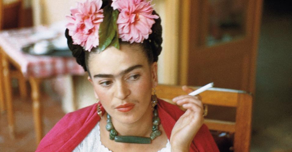 A pintora Frida Kahlo