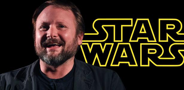O diretor Rian Johnson