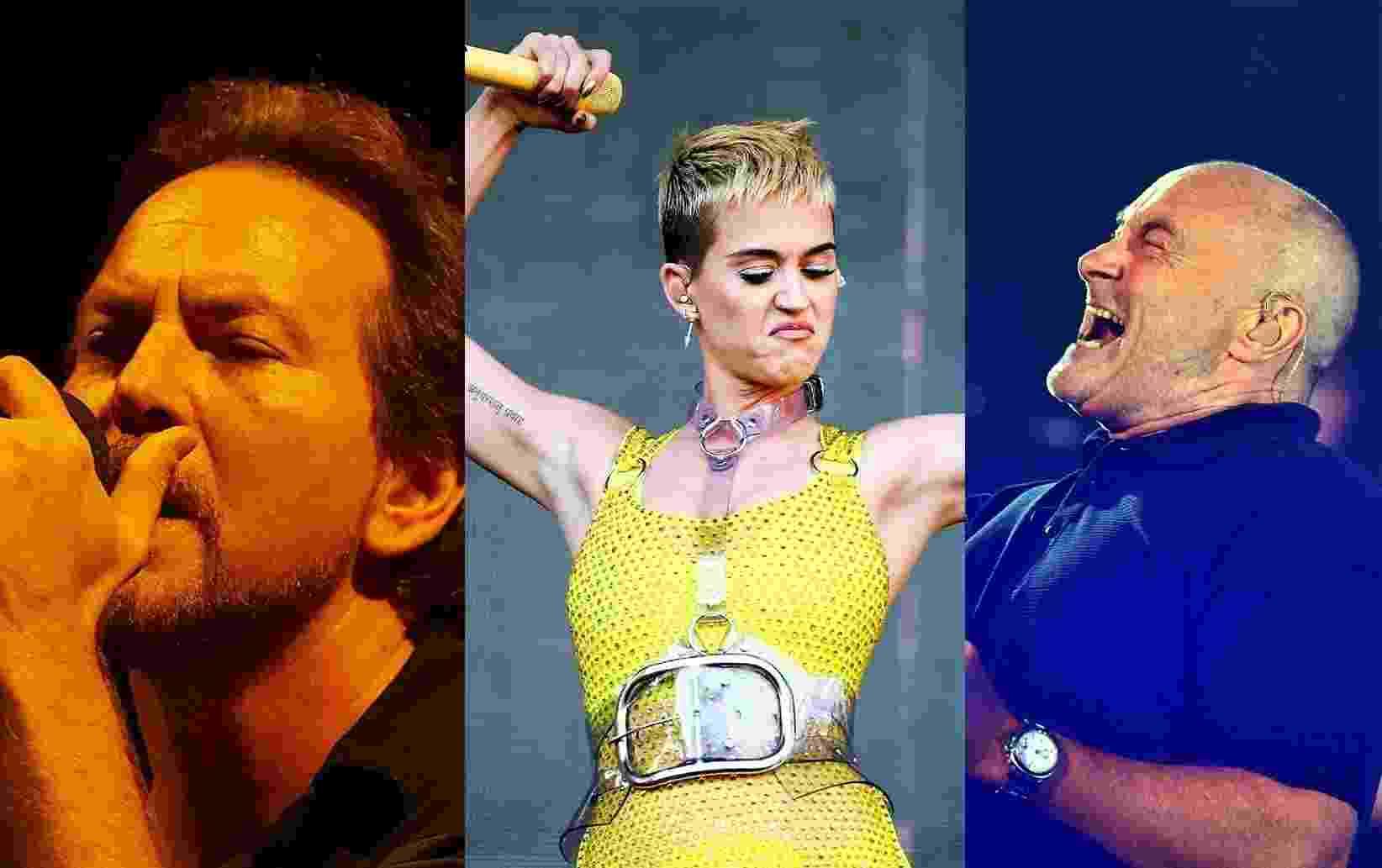 O novo ano não está de brincadeira. São mais de 15 shows internacionais apenas em março - Reprodução/UOL