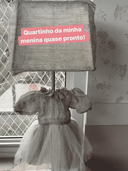 Patricia Abravanel mostra detalhe do quarto da filha que espera - Reprodução/Instagram/patriciaabravanel - Reprodução/Instagram/patriciaabravanel