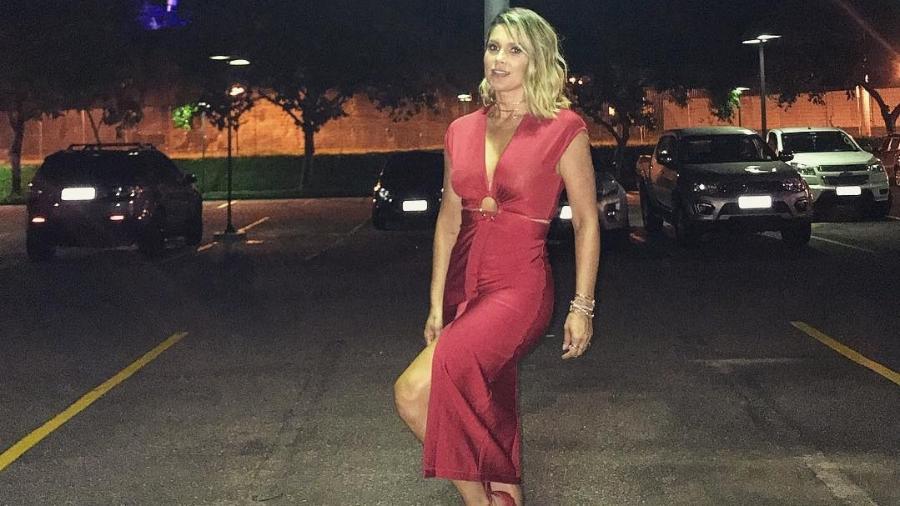Vestido de Flávia Alessandra que foi pedido emprestado por fã - Reprodução/Instagram