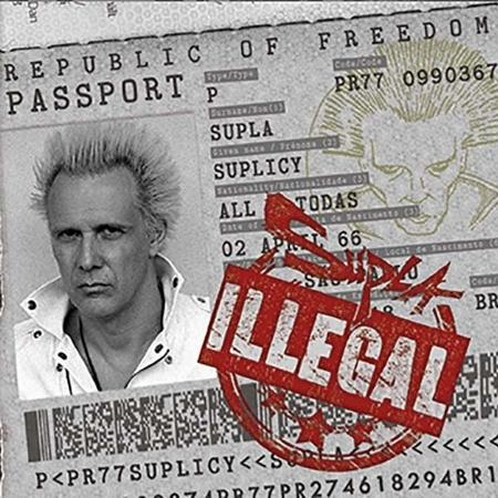 "Capa de ""Illegal"", novo álbum do Supla - Vinny Campos"