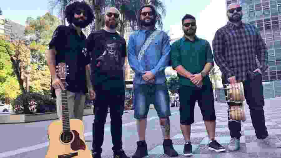 Banda Maneva grava DVD acústico neste domingo (15) no Estância Alto da Serra - Divulgação