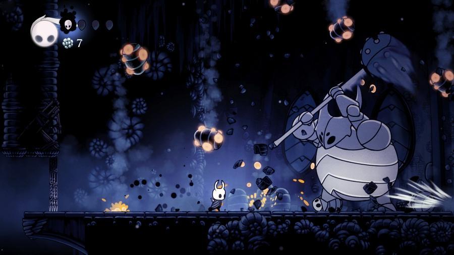 """Hollow Knight é uma das referências do subgênero """"metroidvania"""" - Divulgação"""