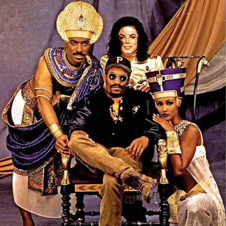 """Michael Jackson na gravação de """"Remember the Time"""" - Reprodução/IMDB"""