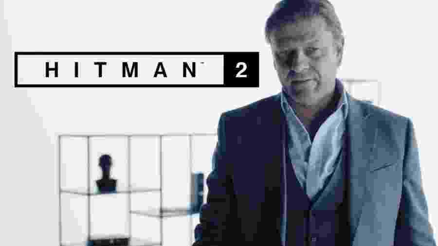 Sean Bean em Hitman 2 - Divulgação