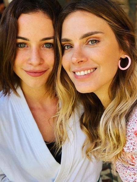 Carolina Dieckmann e Laryssa Aires - Reprodução/Instagram