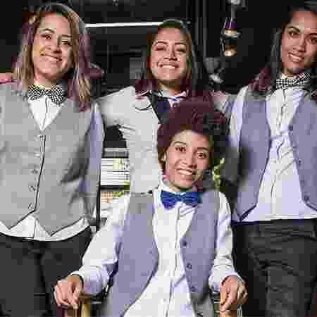 A equipe da Mulher Barbeira, de Belo Horizonte (MG) -  Arquivo Pessoal