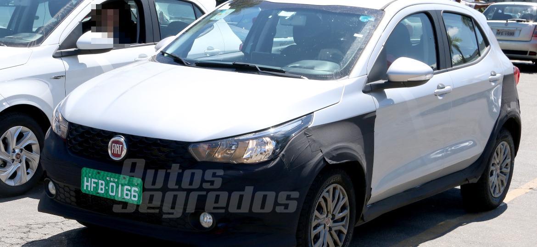 Fiat Argo aventureiro 1 - Marlos Ney Vidal/Autossegredos