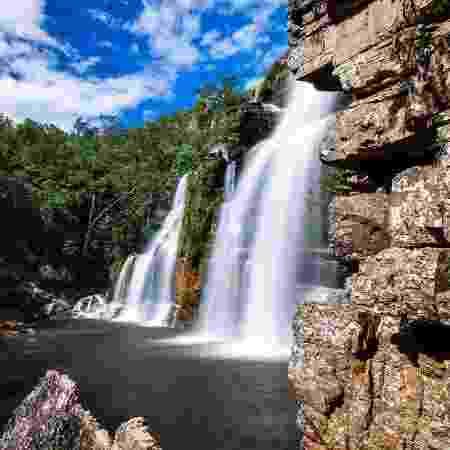 Cachoeira da Chapada dos Veadeiros, em Goiás - Rodrigo S Coelho/Getty Images/iStockphoto - Rodrigo S Coelho/Getty Images/iStockphoto