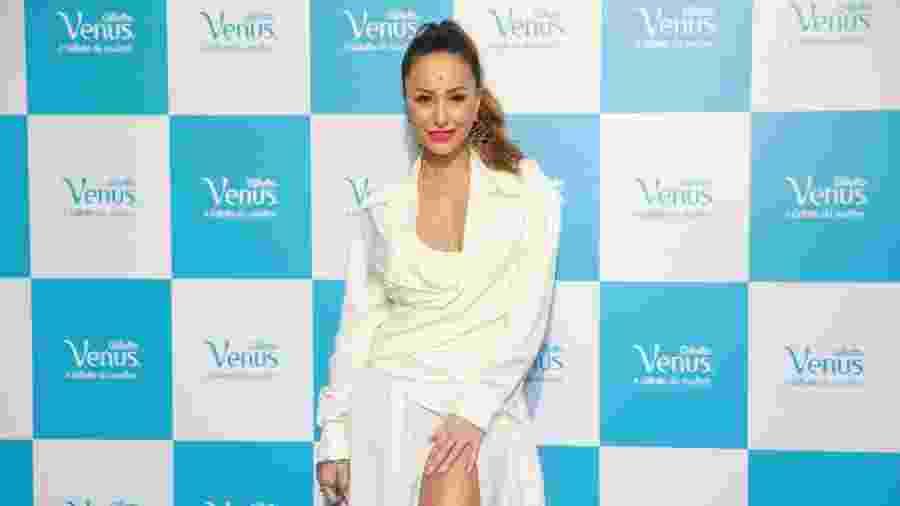Sabrina Sato no evento da Gillette Venus, em São Paulo, nesta quinta-feira (14) - Manuela Scarpa/Brazil News